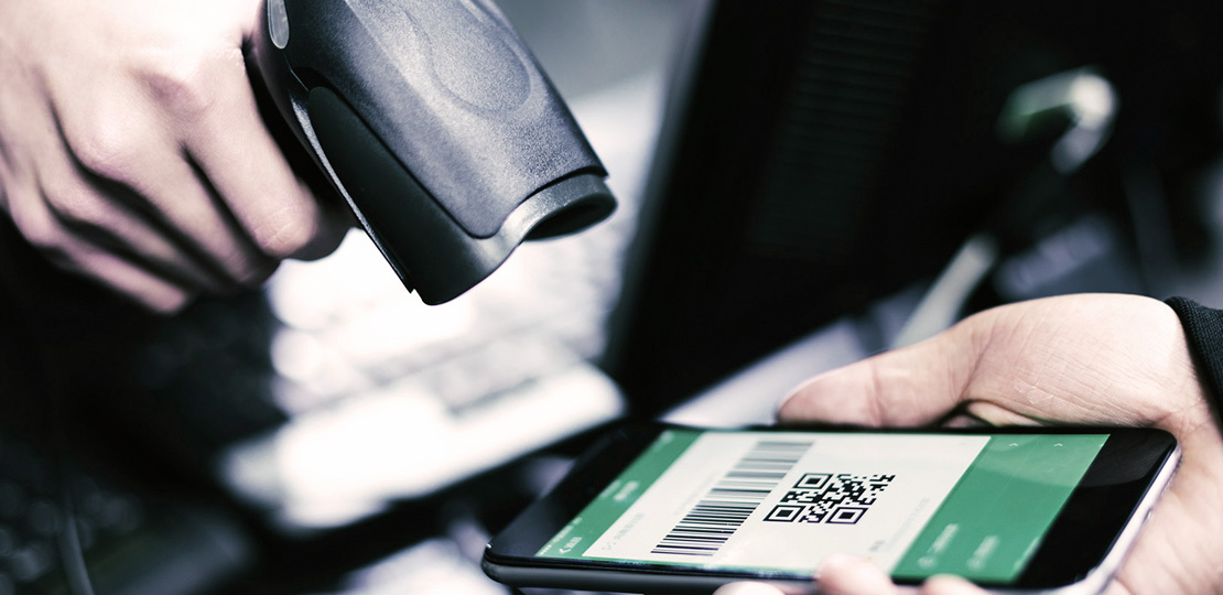 Scanning a Click and Collect barcode is part of Omnichannel Order Management