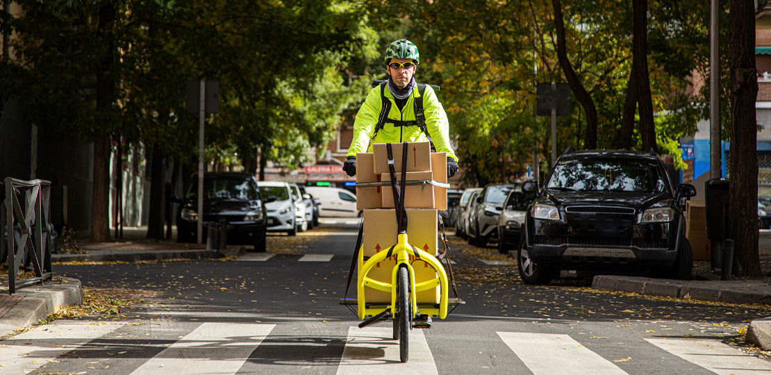 Sustainable last-mile delivery